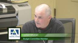 Shaun Moran's address to Ashland Budget committee